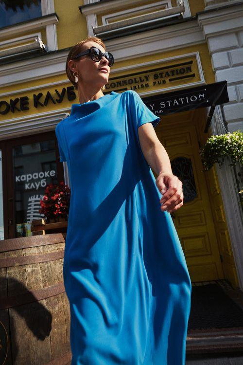 Платье «Голубая сойка»