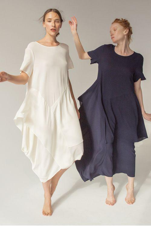 Платье Япония, длинное