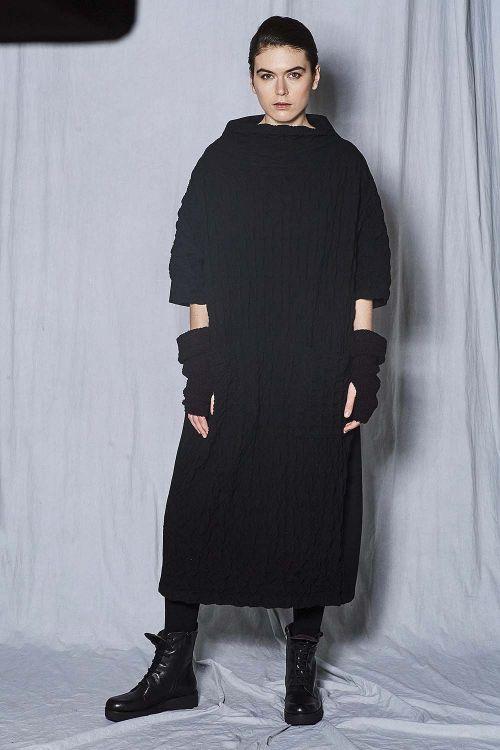 Платье кимоно фактурное на подкладке