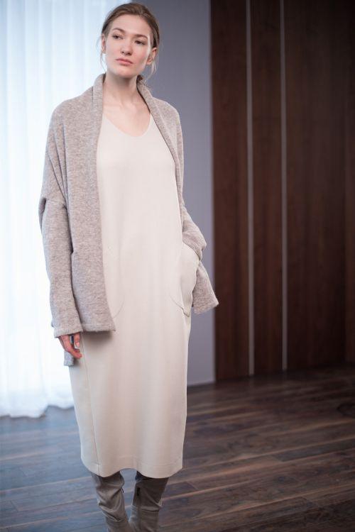 Платье Овал, длинное