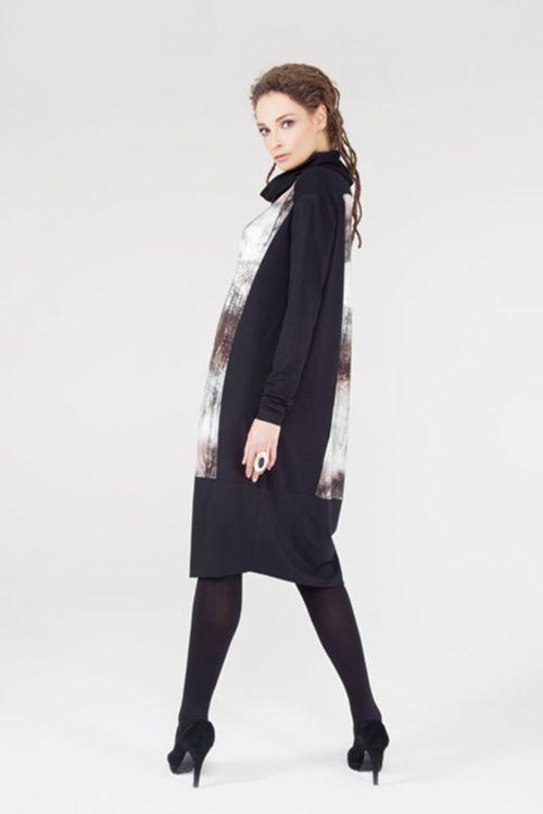 Платье Баллон-модерн, деревья