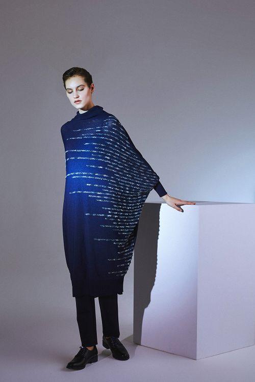 Платье Строчка