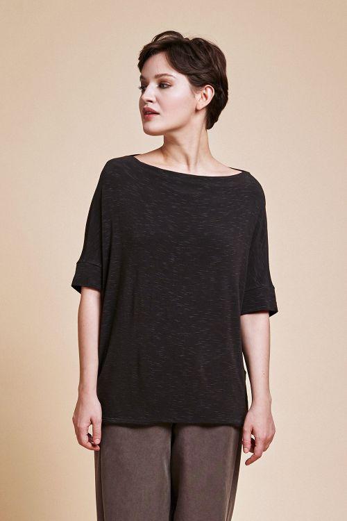 Блуза «База-хомут, трикотаж»