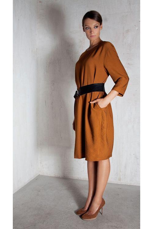 Платье О-силуэт