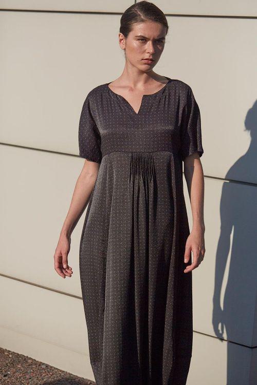 Платье РОМБ с защипами АРАБЕСКИ