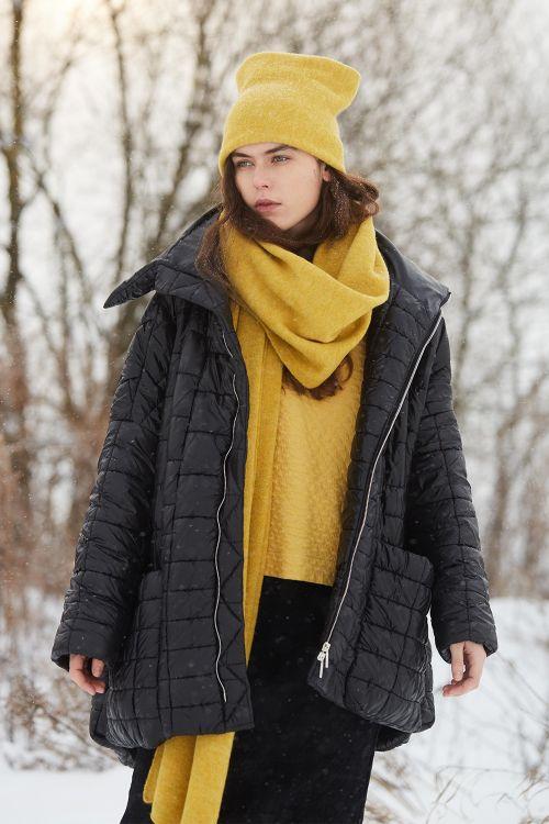 Куртка стёганая Квадрат с высокой стойкой