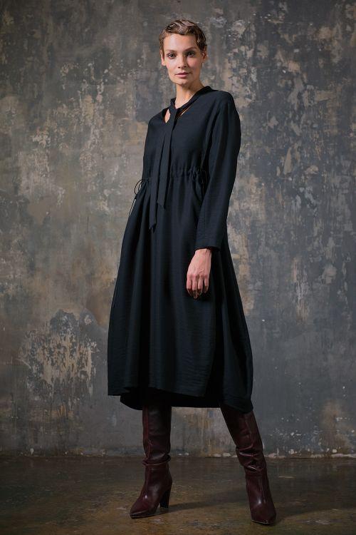 Платье Баллон с кулисой