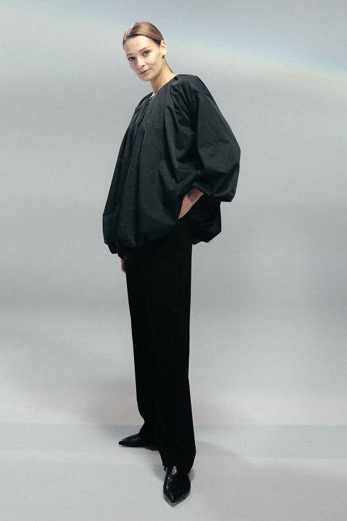 Куртка со сборкой, на молнии