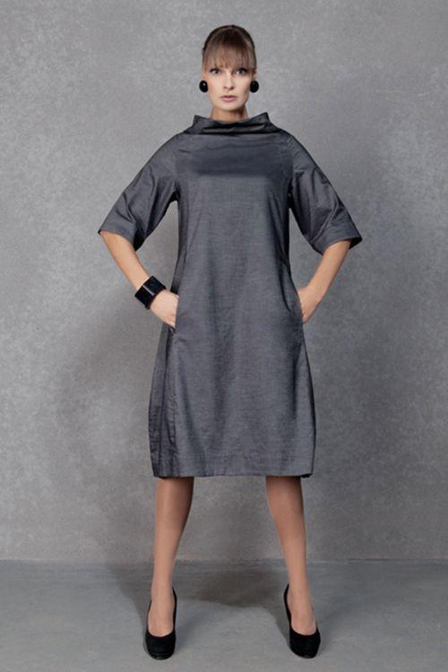 Платье Трапеция-хомут