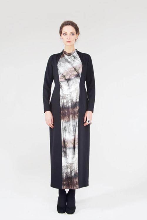 Платье Дайвинг-деревья