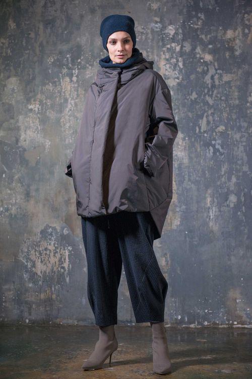 Куртка Квадрат с капюшоном, с утеплителем