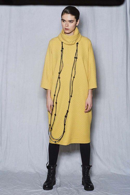 Платье среднее Съёмный воротник, Дюны