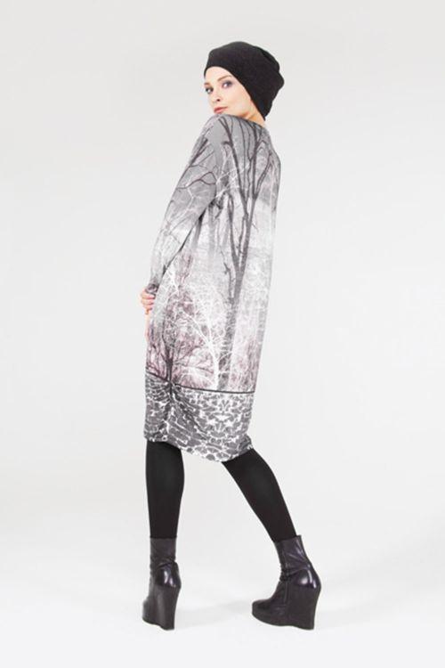 Платье Баллон-деревья