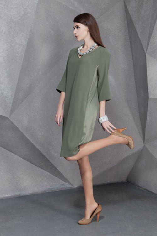 Платье Реглан-валик
