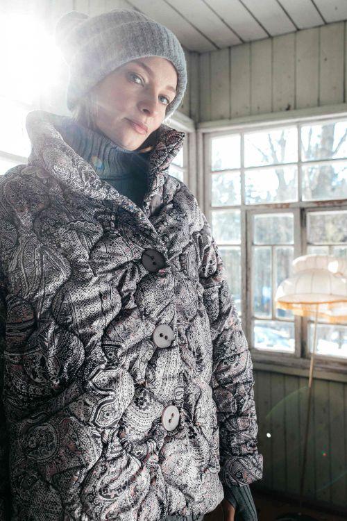 Куртка короткая стеганая Пейсли