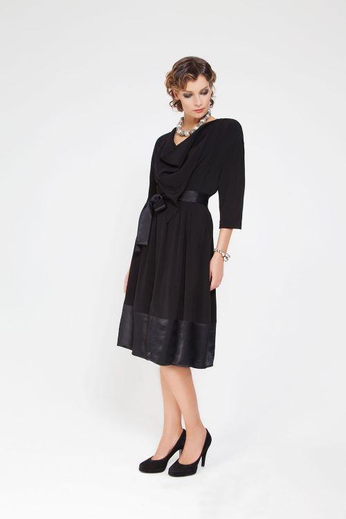 Платье Качели-защипы